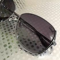 Coach Sunglasses Silver Gray Classy Style Photo