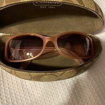 Coach Sunglasses W/case Preowned Photo