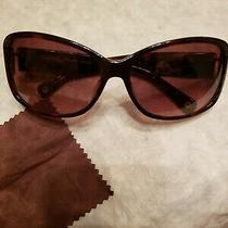 Coach Sunglasses Womens With Case & Cloth Tortoise Brown Photo