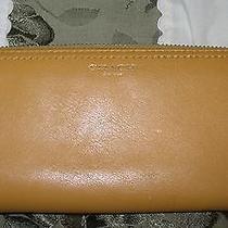 Coach Super Cute Yellow Zippy Long Wallet Clutch Photo