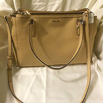 Coach Tan  Christie Satchel  398 Photo