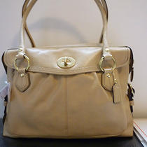 Coach Tan Leather Addison Handbag Photo