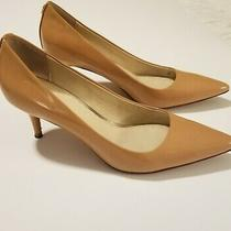 Coach Tan Patent Point Toe Heels - Pre-Owned - Size 7.5 Photo