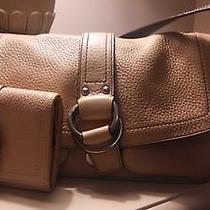Coach Tan Pocket Book With Matching Wallet Photo