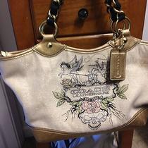 Coach Tattoo Canvas Tote Photo