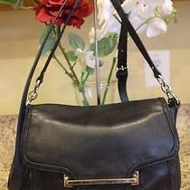 Coach Taylor Leather Flap Shoulder Bag F27481 Purse (Pu100 Photo