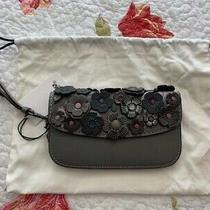 Coach Tea Rose App Clutch Heather Grey Photo
