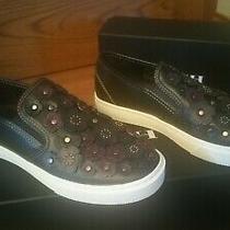 Coach Tea Rose Slip on Sneakers Size 8 Photo