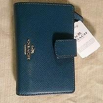 Coach Teal Blue Wallet  Photo