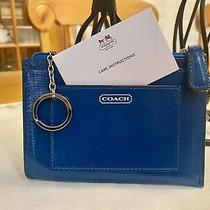 Coach Teal Card Case/keychain Photo