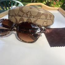 Coach - Temple Cat Eye Sunglasses  Photo