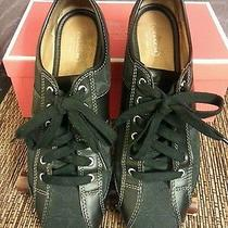 Coach Tennis Shoes Size 8 Black Photo