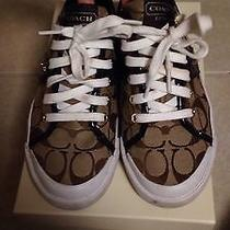 Coach Tennis Shoes Sneakers Size 7.5 Photo