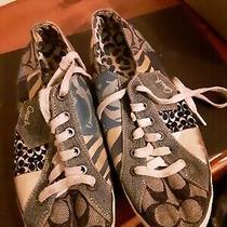 Coach Tonya Sneaker Wm Sz 7.5.f0007/c07 Photo