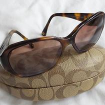 Coach  Tortoise Prescription Sunglass in Original Case Photo
