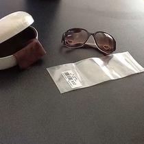 Coach Tortoise Sunglasses - New With Tags - Buy Original  Photo