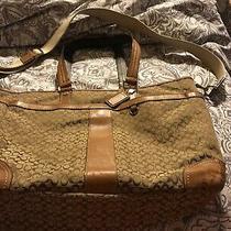 Coach Tote Diaper Bag Good Condition 100% Authentic Signature C Photo