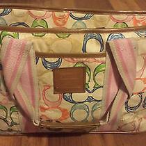 Coach Tote Diaper Bag Handbag Color c's  Photo