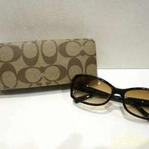Coach Turquoise/s426/with Case Sunglasses Photo