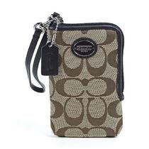 Coach Universal Iphone Cell Phone Case Wristlet Photo