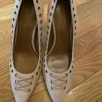 Coach Varick Blush Color Pumps Size 10 Photo