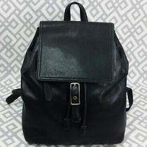 Coach Vintage Black Legacy Leather Bag Large Backpack Purse H13 9827  Photo