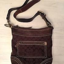 Coach Vintage Brown Classic Handbag Photo