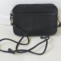 Coach Vintage Cross Body Bag Black Photo