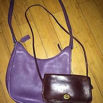 Coach Vintage Purses (2) Photo