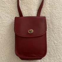 Coach Vintage Sidepack Red Crossbody Purse Small Shoulder Bag 9978 Photo