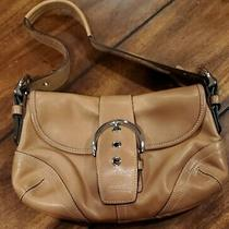 Coach Vintage Women Small Leather Purse- Beige Photo