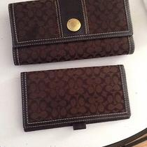 Coach Wallet Brown Photo
