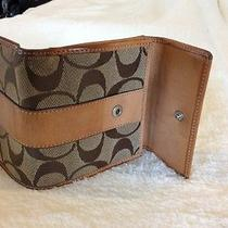 Coach Wallet Brown and Tan Photo