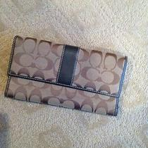 Coach Wallet Brown Pre-Owned Photo