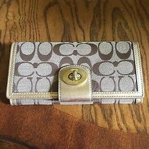 Coach Wallet (Gold Classic C Pattern) Photo