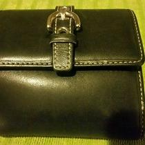 Coach Wallet Leather Black Photo