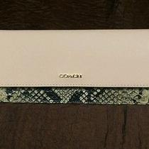 Coach Wallet New With Tags Photo