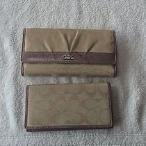 Coach Wallet Purple Photo