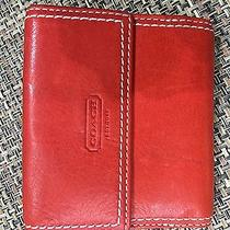 Coach Wallet Red-Orange New With Tags  41055 Photo
