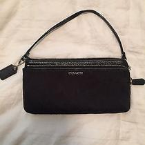Coach Wallet Wristlet Black Photo