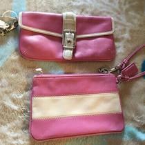 Coach Wallet & Wristlet Lot Pink Leather Photo