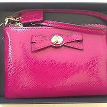 Coach Wallet Wristlet Magenta Pink Purple Nwt Photo