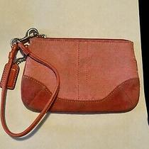 Coach Wallet Wristlet Pink Photo