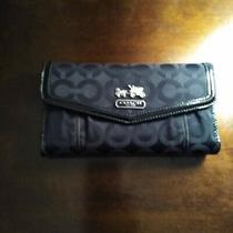 Coach Wallets for Women Used Black Photo