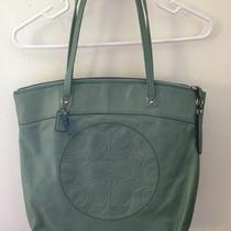 Coach Wasabi Green Tote Bag Photo