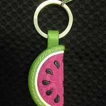Coach Watermelon Slice Keychain Ring Charm Fob Photo