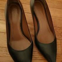 Coach Waverly Studded Leather Pointed Toe Pumps Women's Size 6 Black Photo