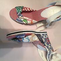 Coach Wedge Sandals Shoes Tammie 9m Photo