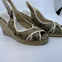 Coach Wedges Size 7 Photo