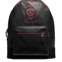 Coach West Backpack With Skull Motif - Limited Special Edition Style F76905 Photo